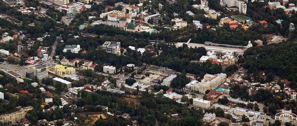 Панорама города. Фото Юрия Жванко