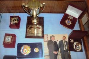 Награды за созданные изделия кисловодских мастеров в музее Крепость_
