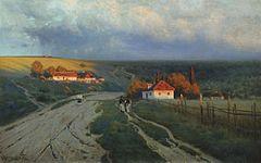 Konstantin_Kryzhitsky_VecherNaUkraine_1901