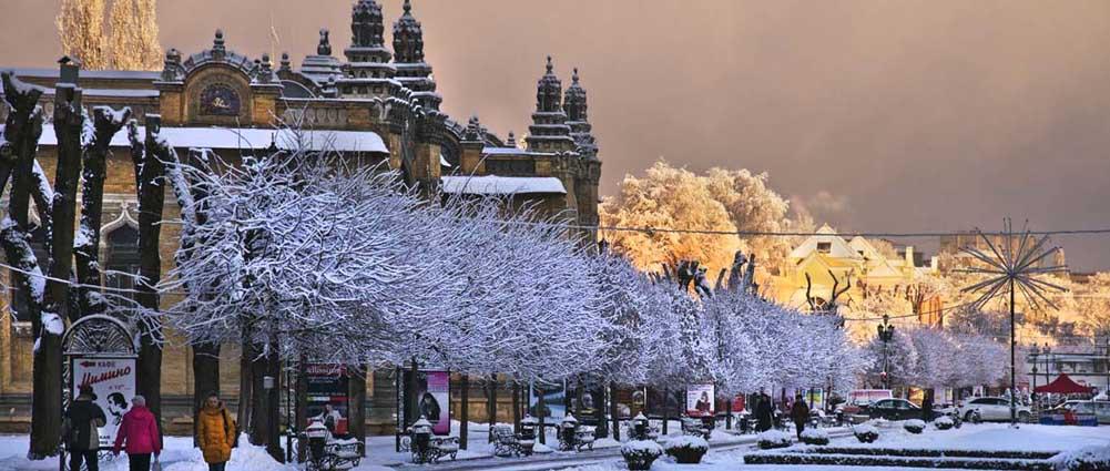 Зимняя сказка. Фото Юрия ЖВАНКО.