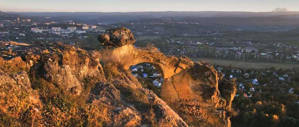 Вид с горы Кольцо. Фото Юрия ЖВАНКО.