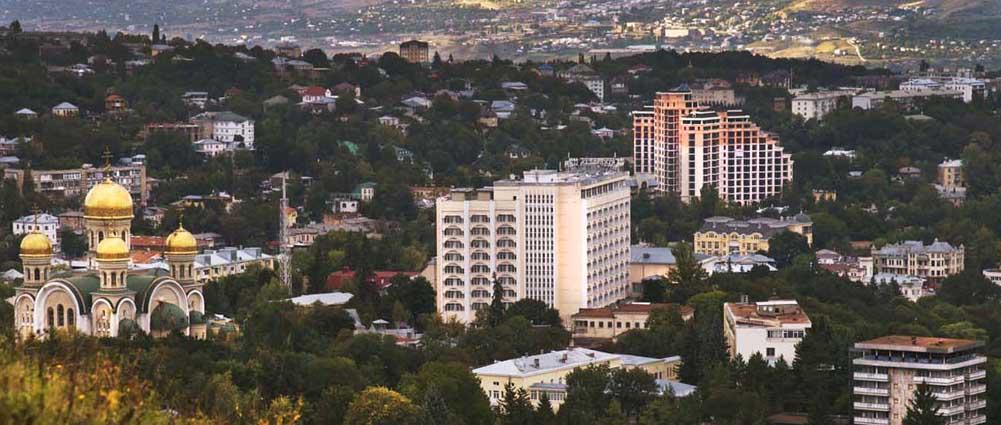 Панорама города. Фото Юрия ЖВАНКО.