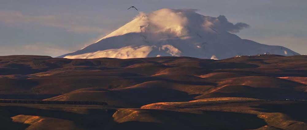 Эльбрус. Фото Юрия ЖВАНКО.
