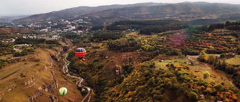С высоты воздушного шара. Фото Юрия Жванко