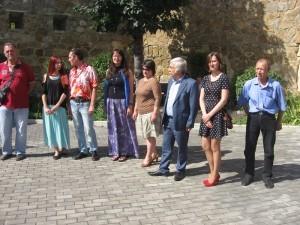 Авторы работ, представленных на выставке