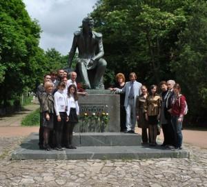 После городского конкурса чтения стихов С.Есенина в г.Лермон