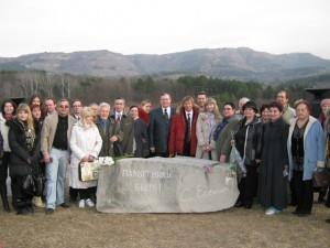 Закладка памятного камня на Сосновой горке, Кисловодск, 28 д