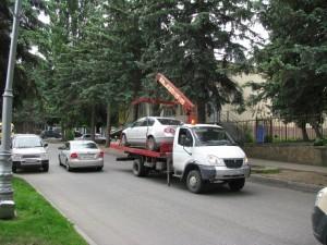Эвакуация незаконно припаркованного автотранспорта 002