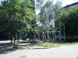Объект незаконного строительства ул. Героев медиков