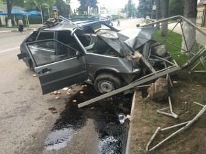 Технические повреждения автомобиля ВАЗ - 2114