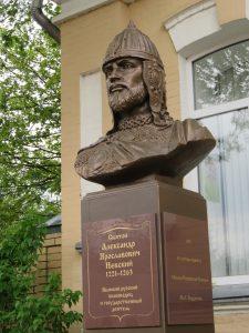 В КИСЛОВОДСКЕ ОТКРЫТ ПАМЯТНИК АЛЕКСАНДРУ НЕВСКОМУ